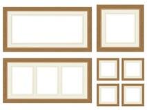 Blocchi per grafici di legno della foto Fotografie Stock Libere da Diritti