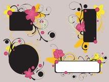 Blocchi per grafici floreali Fotografie Stock