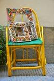 Blocchi per grafici Handmade in Toscana, Italia Fotografia Stock Libera da Diritti