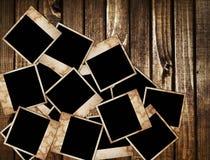 Blocchi per grafici invecchiati della foto su priorità bassa di legno Fotografia Stock Libera da Diritti