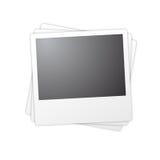 Blocchi per grafici isolati del polaroid Fotografia Stock Libera da Diritti