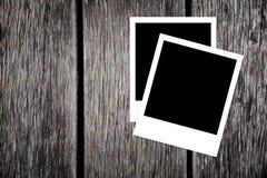 Blocchi per grafici istanti in bianco della foto Fotografia Stock