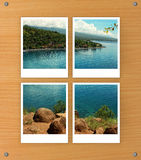 Blocchi per grafici organizzati della foto Fotografie Stock
