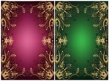 Blocchi per grafici ornamentali Immagine Stock