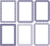 Blocchi per grafici rettangolari Fotografia Stock