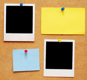 Blocchi per grafici vuoti della foto Immagine Stock
