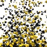 Blocchi su bianco Fotografia Stock Libera da Diritti
