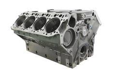 blocco cilindri del motore del camion Immagine Stock
