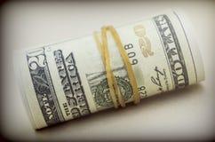 Blocco di biglietti per 100 dollari Fotografie Stock Libere da Diritti