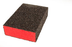 Blocco di carta della sabbia Fotografie Stock