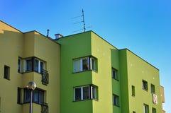 Appartamenti del blocco Fotografia Stock Libera da Diritti