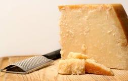 Blocco di formaggio Fotografie Stock Libere da Diritti