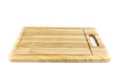 blocco di legno su fondo bianco Immagini Stock Libere da Diritti