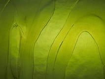 Blocco di vetro verde Fotografia Stock