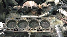 Blocco motore Fotografie Stock Libere da Diritti