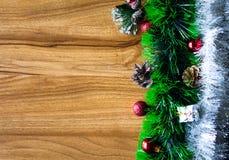 Blocco note bianco Nuovo anno felice Fotografia Stock