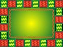 Blocco per grafici africano illustrazione di stock