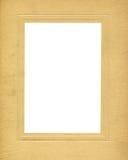 Blocco per grafici antico del cartone Fotografie Stock Libere da Diritti