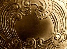 Blocco per grafici antico del metallo dell'annata Fotografia Stock