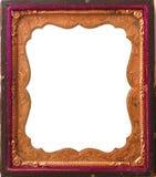 Blocco per grafici antico isolato del tintype Immagini Stock