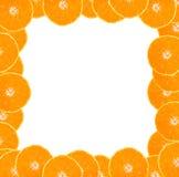 Blocco per grafici arancione. fotografie stock libere da diritti