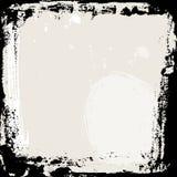 Blocco per grafici astratto del grunge Modello nero e beige del fondo Vettore Fotografie Stock Libere da Diritti
