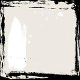 Blocco per grafici astratto del grunge Modello nero e beige del fondo Vettore Fotografia Stock Libera da Diritti