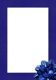 Blocco per grafici blu Immagini Stock Libere da Diritti