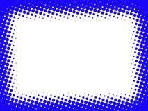 Blocco per grafici blu astratto Fotografia Stock Libera da Diritti