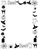 Blocco per grafici/bordo di Halloween Fotografia Stock Libera da Diritti