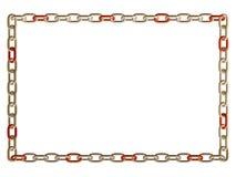 Blocco per grafici chain del metallo Fotografia Stock