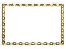 Blocco per grafici chain del metallo Fotografie Stock
