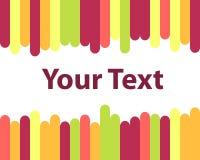 Blocco per grafici Colourful Fotografia Stock