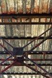 Blocco per grafici d'acciaio Fotografia Stock Libera da Diritti