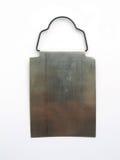 Blocco per grafici d'acciaio - isolato fotografia stock