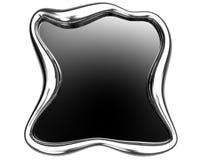 Blocco per grafici d'acciaio spazzolato Fotografia Stock Libera da Diritti