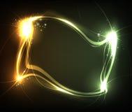 Blocco per grafici d'ardore di energia Fotografie Stock Libere da Diritti