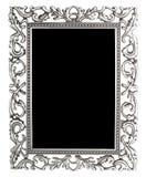 Blocco per grafici d'argento Immagine Stock