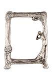 Blocco per grafici d'argento Immagini Stock Libere da Diritti
