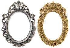 Blocco per grafici d'argento, blocco per grafici dell'oro Fotografie Stock