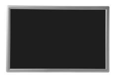 Blocco per grafici d'argento con il quadrato nero Immagini Stock