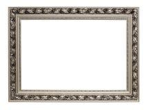 Blocco per grafici d'argento di arte isolato su bianco Fotografia Stock Libera da Diritti