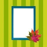 Blocco per grafici d'autunno elegante. Immagini Stock Libere da Diritti