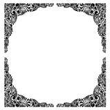 Blocco per grafici decorativo del fiore Immagini Stock