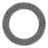 Blocco per grafici decorativo ornamentale del cerchio Fotografie Stock