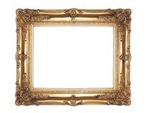 Blocco per grafici decorato dell'oro fotografia stock libera da diritti
