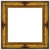 Blocco per grafici decorato dorato fotografie stock