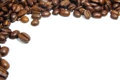 Blocco per grafici dei chicchi di caffè Immagine Stock Libera da Diritti