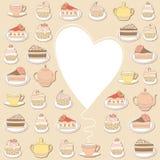 Blocco per grafici dei dolci. Immagini Stock