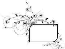 Blocco per grafici dei fiori Immagine Stock
